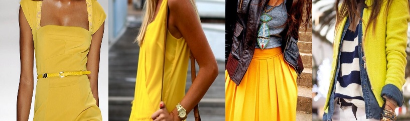 Trendkleur geel